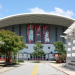 UGA Student Athletic Center and Basketball Stadium in Athens GA by Michelle DeRepentigny