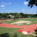 UGA Track Athens GA by Michelle DeRepentigny